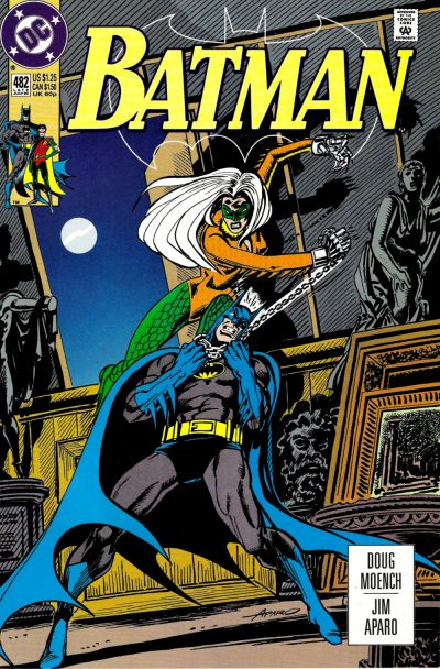 Cover for Batman (DC, 1940 series) #482