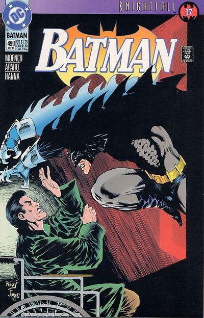 Cover for Batman (DC, 1940 series) #499
