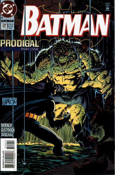 Cover for Batman (DC, 1940 series) #512