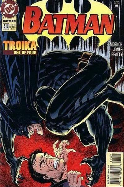 Cover for Batman (1940 series) #515 [Embossed Edition]