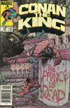 Cover Thumbnail for Conan the King (1984 series) #20 [Newsstand Edition]
