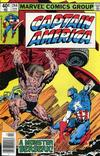 Cover for Captain America (Marvel, 1968 series) #244 [Newsstand Edition]