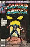 Cover for Captain America (Marvel, 1968 series) #256 [Newsstand Edition]