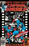 Cover for Captain America (Marvel, 1968 series) #281 [Newsstand Edition]