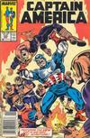 Cover for Captain America (Marvel, 1968 series) #335 [Newsstand Edition]