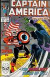 Cover for Captain America (Marvel, 1968 series) #344 [Direct Edition]
