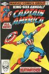 Cover for Captain America Annual (Marvel, 1971 series) #5 [Direct Edition]