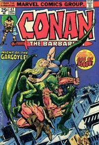 Cover Thumbnail for Conan the Barbarian (Marvel, 1970 series) #42