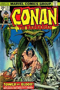 Cover for Conan the Barbarian (Marvel, 1970 series) #43 [Regular Edition]