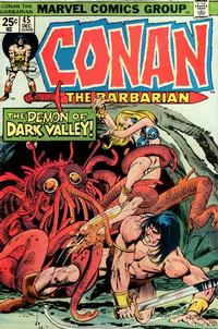 Cover Thumbnail for Conan the Barbarian (Marvel, 1970 series) #45 [Regular Edition]