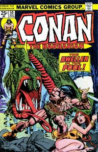 Cover Thumbnail for Conan the Barbarian (Marvel, 1970 series) #50 [Regular Edition]