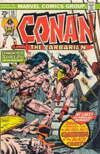 Cover Thumbnail for Conan the Barbarian (Marvel, 1970 series) #58 [Regular Edition]