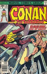 Cover Thumbnail for Conan the Barbarian (Marvel, 1970 series) #66 [Regular Edition]