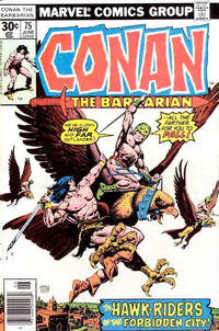 Cover Thumbnail for Conan the Barbarian (Marvel, 1970 series) #75 [30¢ Cover Price]