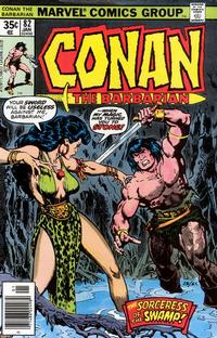 Cover Thumbnail for Conan the Barbarian (Marvel, 1970 series) #82