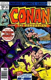 Cover Thumbnail for Conan the Barbarian (Marvel, 1970 series) #87