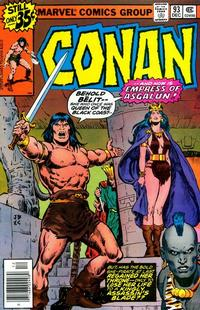 Cover Thumbnail for Conan the Barbarian (Marvel, 1970 series) #93 [Regular Edition]