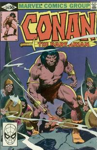 Cover for Conan the Barbarian (Marvel, 1970 series) #124 [Direct Edition]