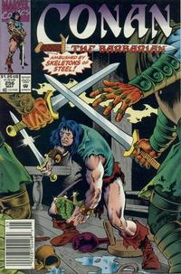 Cover Thumbnail for Conan the Barbarian (Marvel, 1970 series) #256 [Newsstand Edition]