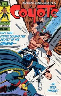 Cover Thumbnail for Coyote (Marvel, 1983 series) #4