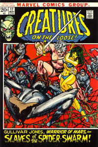 Cover Thumbnail for Creatures on the Loose (Marvel, 1971 series) #17