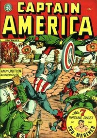 Cover Thumbnail for Captain America Comics (Marvel, 1941 series) #20
