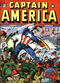 Cover Thumbnail for Captain America Comics (Marvel, 1941 series) #22