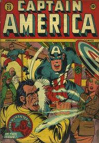 Cover Thumbnail for Captain America Comics (Marvel, 1941 series) #23