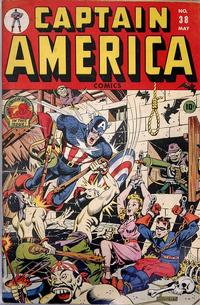Cover Thumbnail for Captain America Comics (Marvel, 1941 series) #38