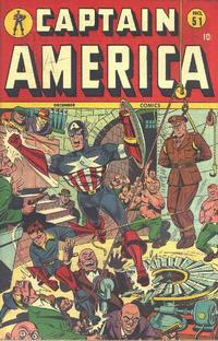 Cover Thumbnail for Captain America Comics (Marvel, 1941 series) #51