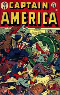 Cover Thumbnail for Captain America Comics (Marvel, 1941 series) #52