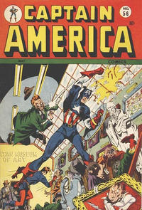 Cover Thumbnail for Captain America Comics (Marvel, 1941 series) #56