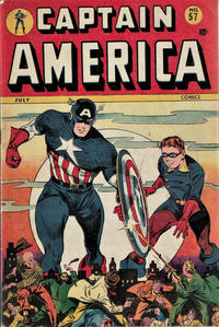 Cover for Captain America Comics (Marvel, 1941 series) #57