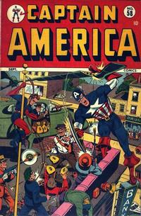 Cover Thumbnail for Captain America Comics (Marvel, 1941 series) #58