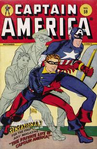 Cover Thumbnail for Captain America Comics (Marvel, 1941 series) #59