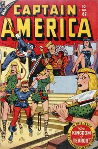 Cover Thumbnail for Captain America Comics (Marvel, 1941 series) #62