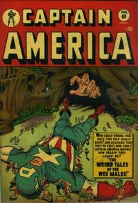 Cover Thumbnail for Captain America Comics (Marvel, 1941 series) #69