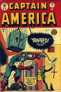 Cover for Captain America Comics (Marvel, 1941 series) #71