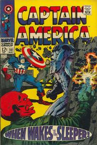 Cover Thumbnail for Captain America (Marvel, 1968 series) #101