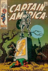 Cover Thumbnail for Captain America (Marvel, 1968 series) #113