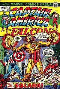 Cover Thumbnail for Captain America (Marvel, 1968 series) #160 [Regular Edition]