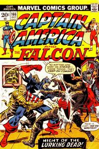 Cover Thumbnail for Captain America (Marvel, 1968 series) #166 [Regular Edition]