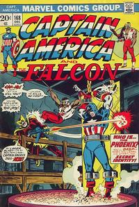Cover Thumbnail for Captain America (Marvel, 1968 series) #168 [Regular Edition]