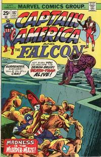 Cover Thumbnail for Captain America (Marvel, 1968 series) #187 [Regular Edition]