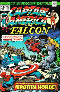 Cover Thumbnail for Captain America (Marvel, 1968 series) #194 [Regular Edition]