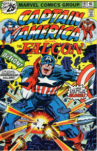 Cover Thumbnail for Captain America (Marvel, 1968 series) #197 [25¢ Cover Price]
