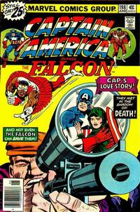 Cover Thumbnail for Captain America (Marvel, 1968 series) #198 [25¢ Cover Price]