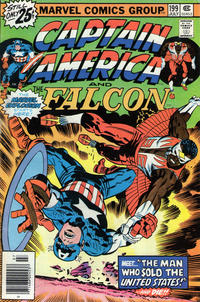 Cover Thumbnail for Captain America (Marvel, 1968 series) #199 [25¢ Cover Price]