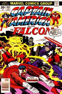 Cover Thumbnail for Captain America (Marvel, 1968 series) #205