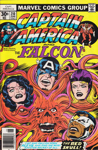 Cover Thumbnail for Captain America (Marvel, 1968 series) #210 [30¢ Cover Price]